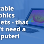 portable graphics tablets that need no computer